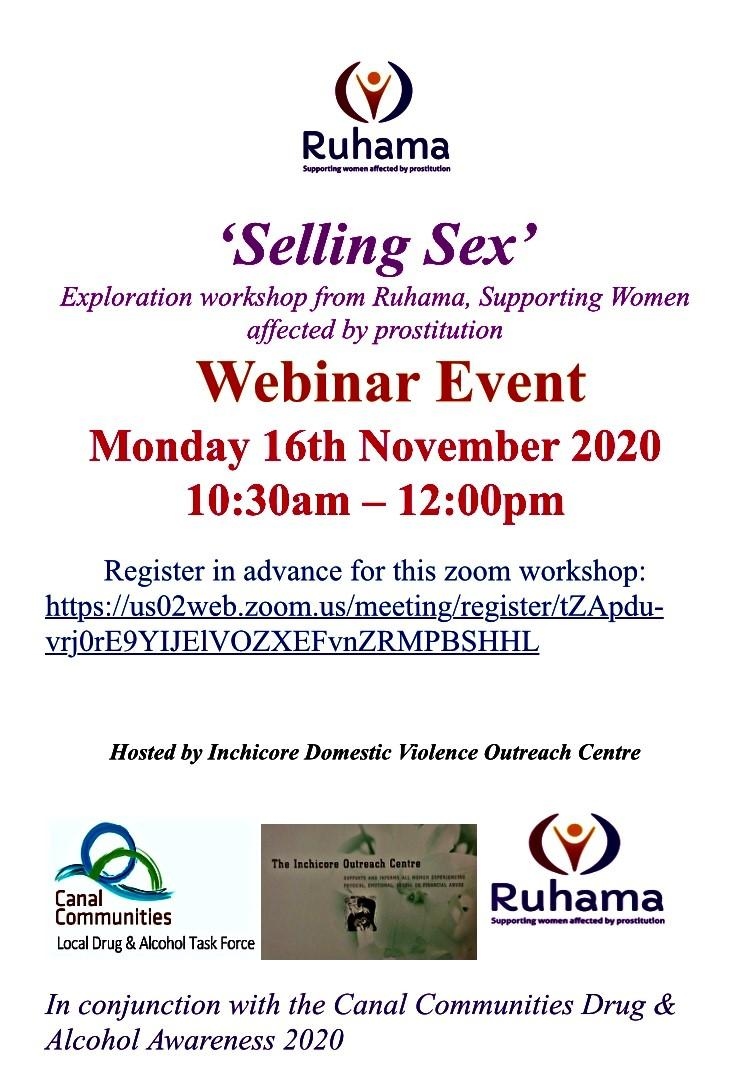 Information about a Webinar Hosted By the Inchicore Domestic Violence Centre