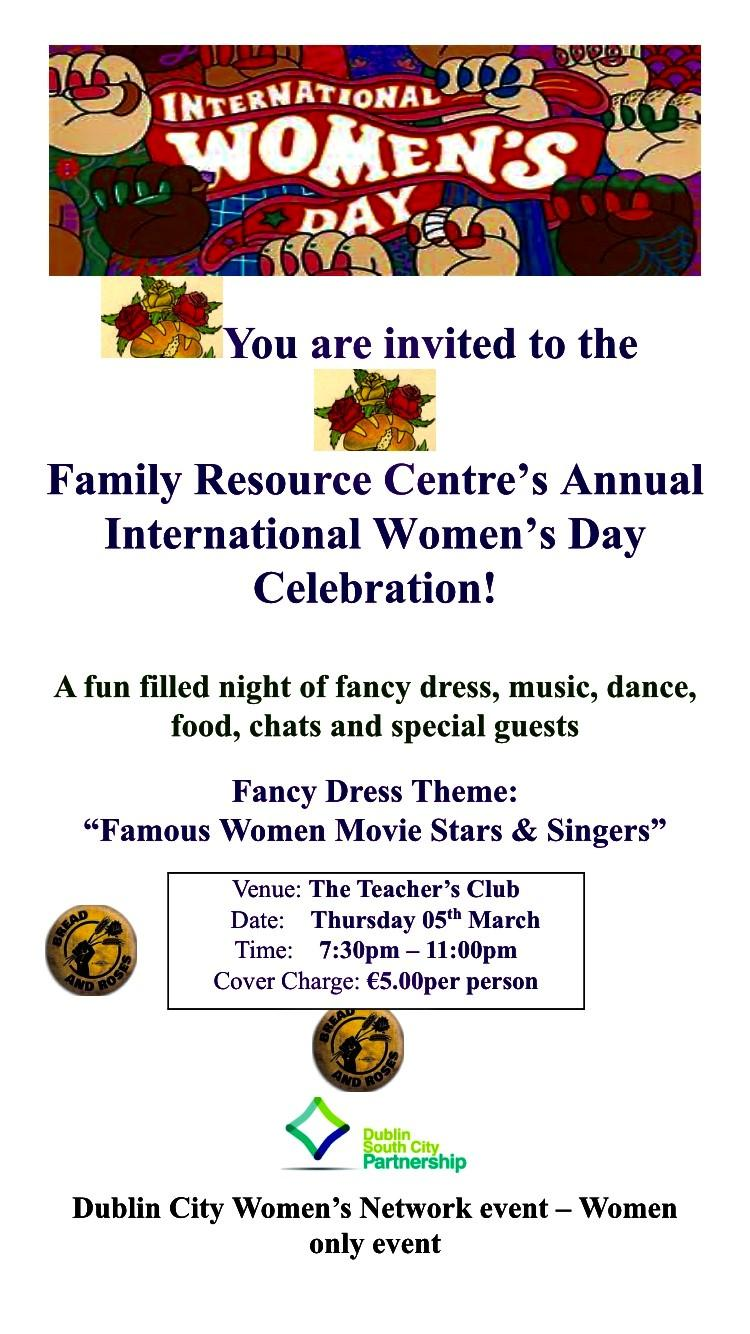 Family Resource Centres Annual International Womens Day Celebration