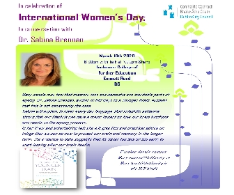In Conversation with Dr Sabina Brennan