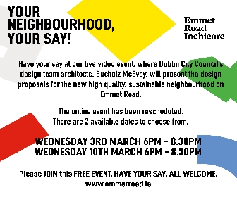 'YOUR NEIGHBOURHOOD, YOUR SAY' webinar Wednesday 10th March6pm-8.30pm